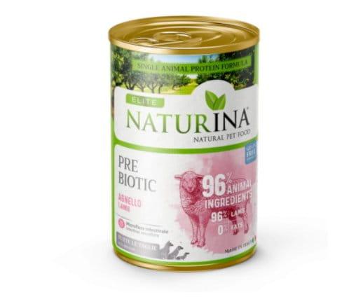 NATURINA ELITE WET PREBIOTIC 400G - 96% JAGNIĘCINA